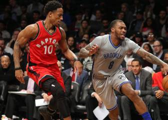 Resumen del Brooklyn Nets - Toronto Raptors de la NBA