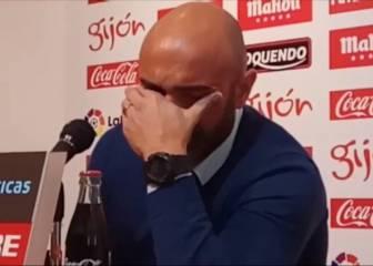 Abelardo breaks down in tears as he steps down at Sporting