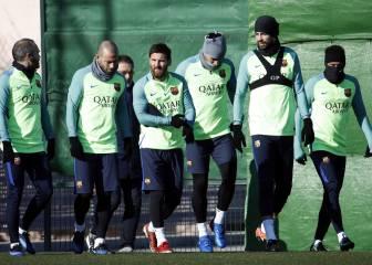 El Barça prepara su choque copero ante la Real Sociedad