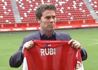Rubi, nuevo técnico del Sporting: