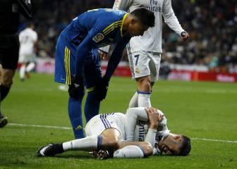 Asensio se retiró lesionado tras un pisotón de Roncaglia