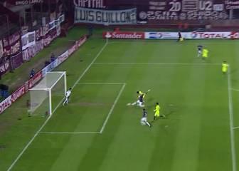 Así fue el gol de Silva jugando para Lanús ante la U