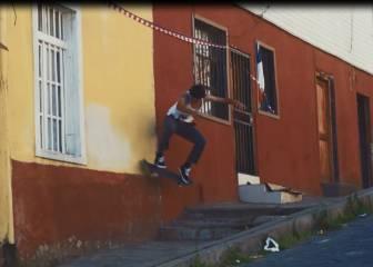 Riders y sus mejores trucos por los rincones de Valparaíso