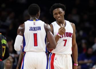 Los Pistons se apuntan una victoria coral ante los Hawks