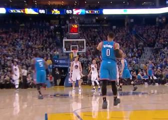 ¡Westbrook, de paseo! ¿Los pasos más descarados de su carrera?