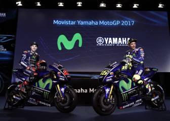 Maverick y Rossi presentan sus flamantes nuevas motos
