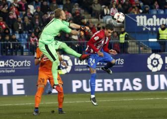 Peor imposible: terrible la salida de Yoel en el gol de Griezmann
