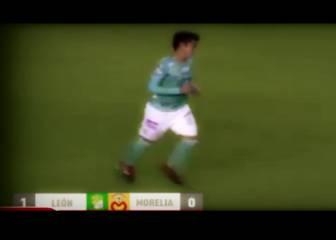 Juan Cornejo estuvo cerca de anotar su primer gol en León