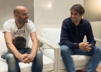 Valerón y Manuel Pablo relatan su rumbo hacia los banquillos