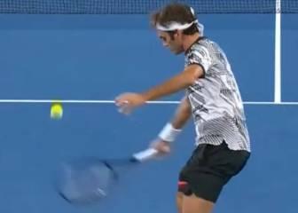 Federer debería ser Patrimonio de la Humanidad: ¡dejada celestial!