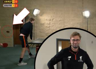 You cannot be serious!! Klopp loses his racket