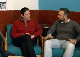 Entrevista de Puzone sobre el partido de barro con Maradona