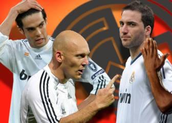 10 jugadores cuestionados del Madrid en los últimos 20 años