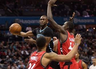 Los Hornets sorprenden a los Raptors gracias a un gran Walker