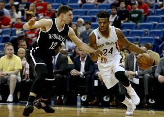 Los Nets aparcan la crisis con todo un recital ante los Pelicans