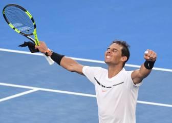 Nadal recupera la épica y agota en cinco sets a Zverev