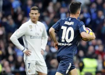 Juanpi llevó el miedo al Bernabéu con su gol a Keylor