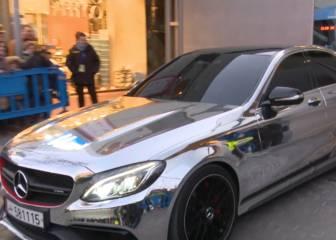 El Mercedes cromado que dejó sin palabras al Bernabéu