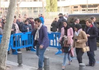 El jeque Al Thani, en el Bernabéu para ver al Málaga