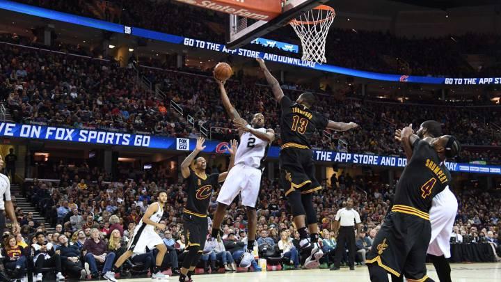 Resumen de los Cleveland Cavaliers - San Antonio Spurs