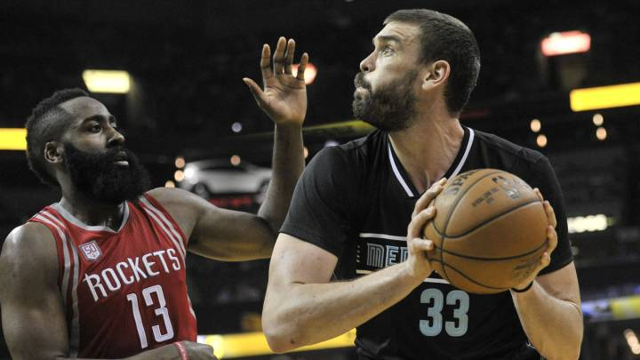 La exhibición de un imparable Marc Gasol ante James Harden