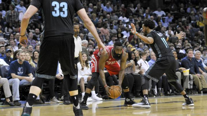 Resumen de los Memphis Grizzlies - Houston Rockets