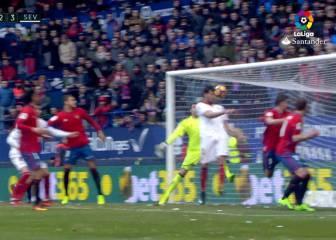 El Mudo Vázquez rescata al Sevilla ante un correoso Osasuna