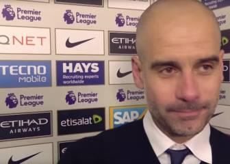 Guardiola atiza a la BBC por preguntarle sobre el árbitro