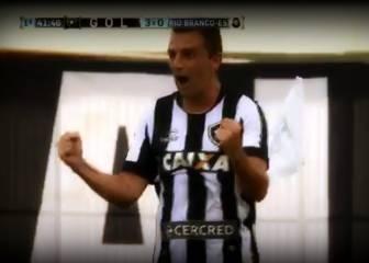 Amenaza al Cacique: Montillo y su primer gol en Botafogo