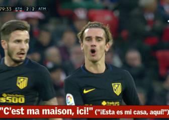 El grito de Griezmann tras su golazo: