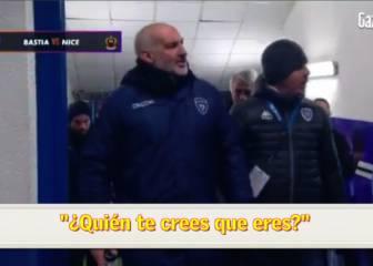Los duros insultos del DT de Bastia a Mario Balotelli