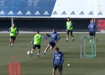 El Madrid prepara a tope el choque de vuelta ante el Celta