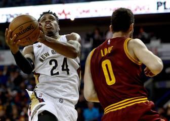 Resumen del New Orleans Pelicans - Cleveland Cavaliers