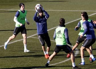 El Real Madrid entrena ultimando su remontada en Balaídos