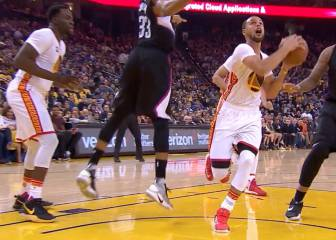 El notable show de Stephen Curry ante Los Clippers