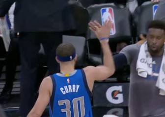 Un gran Seth Curry decide y los Mavs toman San Antonio