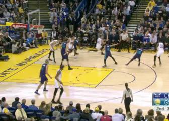 Resumen de Golden State Warriors-Charlotte Hornets