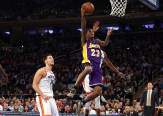 Resumen del New York Knicks - Los Angeles Lakers de la NBA