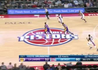 Resumen de Detroit Pistons - Los Angeles Lakers