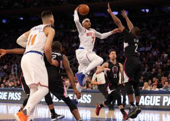 Resumen de New York Knicks - Los Ángeles Clippers