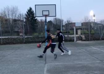 Griezmann's brother Theo, the super sharp shooter
