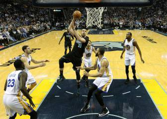 Resumen del Memphis Grizzlies - Golden State Warriors