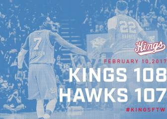 Resumen del Sacramento Kings - Atlanta Hawks de la NBA