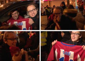 Keeping the fans happy - Gabi gifts shirt to besotted fan