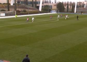 Real Madrid U19 B-team striker, Elliot, scores stonker vs Atletico