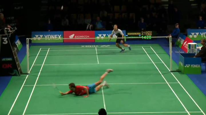 Badminton: never-say-die Lind Thomsen stars in amazing point