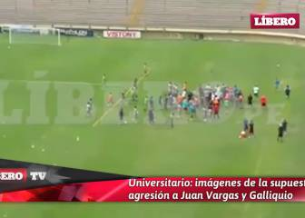 Ultras en Perú: agredieron a jugadores de Universitario