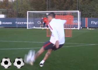 Ángel di María free-kick: practice makes perfect for PSG star