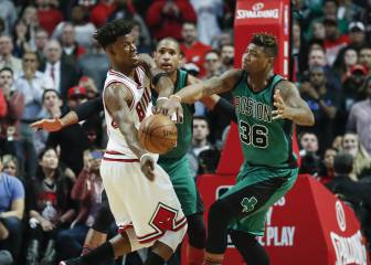 Resumen del Chicago Bulls - Boston Celtics de la NBA
