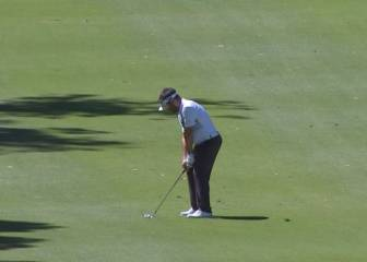 Caught that one ok! Oosthuizen lands a glorious eagle